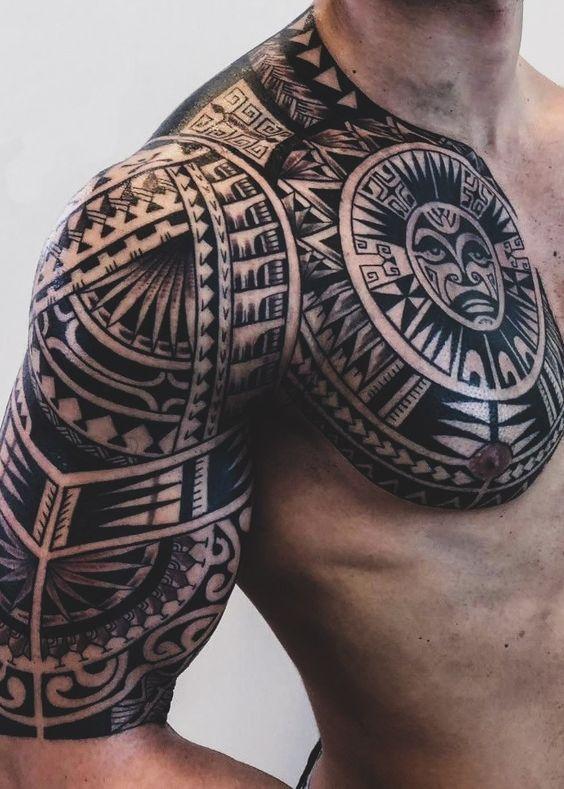 ลายสักชนเผ่า (Tribal tattoo)
