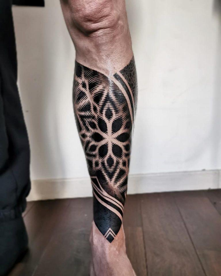 ลายสัก รอยสัก ลายสักมันดาลา Mandala tattoo